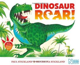 Dinosaur Roar! - фото книги