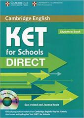 Direct Cambridge KET for Schools Student's Book with CD-ROM - фото обкладинки книги