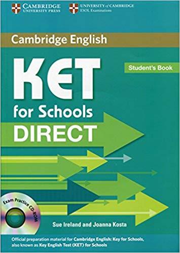 Комплект книг Direct Cambridge KET for Schools Student's Book with CD-ROM