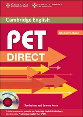 Підручник Direct Cambridge PET Student's Book with CD-ROM