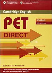 Direct Cambridge PET Workbook with answers - фото обкладинки книги