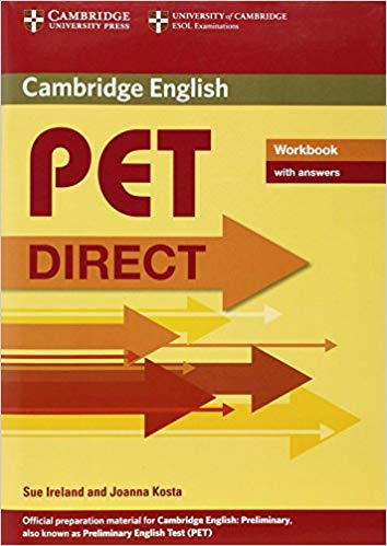 Робочий зошит Direct Cambridge PET Workbook with answers