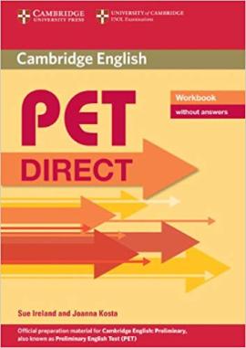 Direct Cambridge PET Workbook without answers - фото книги