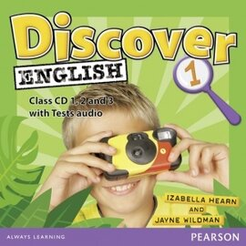 Discover English Global Level 1 Class CD's (аудіодиск) - фото книги