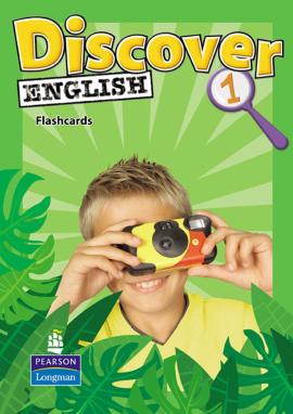 Discover English Global Level 1 Flashcards (навчальні картки) - фото книги