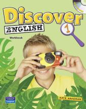 Discover English Global Level 1 Workbook + CD (робочий зошит + аудіодиск) - фото обкладинки книги