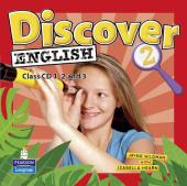 Discover English Global Level 2 Class CD's (аудіодиск) - фото обкладинки книги