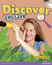Discover English Global Level 2 Work book+CD (робочий зошит+аудіодиск) - фото обкладинки книги