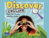 Discover English Global Level 3 Class CD's (аудіодиск)  - фото обкладинки книги
