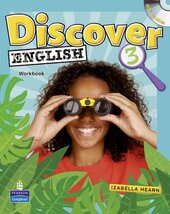 Discover English Global Level 3 Workbook+CD (робочий зошит+аудіодиск) - фото обкладинки книги