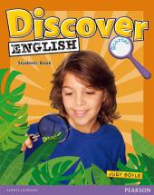 Discover English Global Starter Student's Book (підручник) - фото обкладинки книги