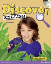 Discover English Global Starter Workbook+CD's (робочий зошит+аудіодиск) - фото обкладинки книги