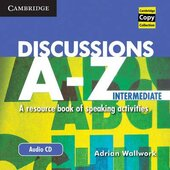 Discussions A-Z Intermediate Audio CD : A Resource Book of Speaking Activities - фото обкладинки книги