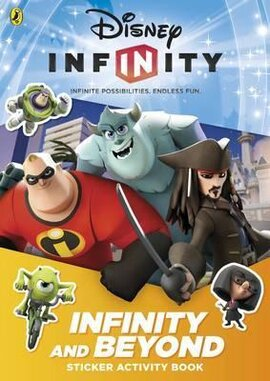 Disney Infinity: Infinity and Beyond Sticker Activity Book - фото книги
