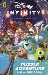 Disney Infinity: Puzzle Adventure. Quiz and Puzzle Book - фото обкладинки книги