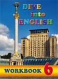 Dive into English 6. Workbook - фото обкладинки книги