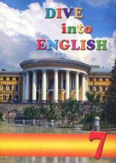 Dive into English 7. Student's Book - фото обкладинки книги