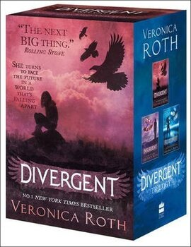 Divergent Series Boxed Set (books 1-3) - фото книги