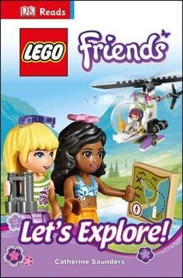 DK Readers 3: LEGO (R) Friends Let's Explore! - фото книги