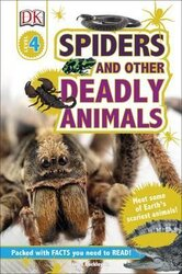 DK Readers 4: Spiders and Other Deadly Animals - фото обкладинки книги