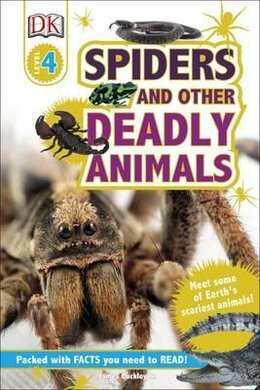 DK Readers 4: Spiders and Other Deadly Animals - фото книги