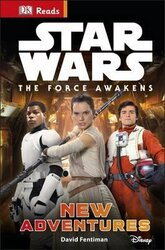 DK Reads: Star Wars The Force Awakens New Adventures - фото обкладинки книги