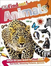 DKfindout! Animals - фото обкладинки книги