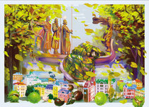 """Добра листівка """"Chestnut Kyiv"""""""