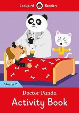 Doctor Panda Activity Book - Ladybird Readers Starter Level B - фото книги