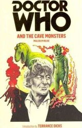 Doctor Who and the Cave Monsters - фото обкладинки книги