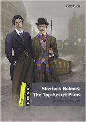 Dominoes New Edition 1: Sherlock Holmes: The Top Secret Plans MultiROM Pack - фото обкладинки книги