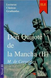 Don Quijote de la Mancha 2 - фото обкладинки книги