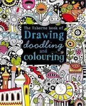 Drawing, Doodling and Colouring Book - фото обкладинки книги