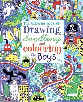 Drawing, Doodling and Colouring for Boys - фото книги