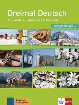 Dreimal Deutsch Lesebuch + Audio-CD - фото книги