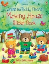 Dress the Teddy Bears Moving House. Sticker Book - фото обкладинки книги
