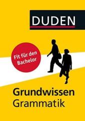 Duden - Grundwissen Grammatik : Fit fr den Bachelor - фото обкладинки книги
