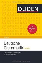 Duden Ratgeber. Deutsche Grammatik kompakt - фото обкладинки книги