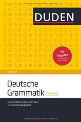Duden Ratgeber. Deutsche Grammatik kompakt - фото книги