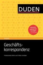 Duden Ratgeber. Geschftskorrespondenz - фото обкладинки книги