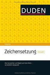 Duden Ratgeber. Zeichensetzung kompakt: Die Satzzeichen auf einen Blick - фото обкладинки книги