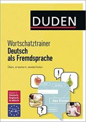Duden. Wortschatztrainer Deutsch als Fremdsprache - фото обкладинки книги