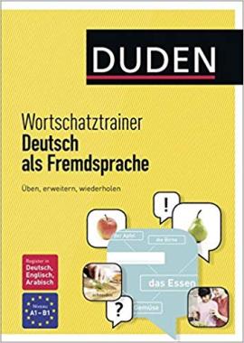 Duden. Wortschatztrainer Deutsch als Fremdsprache - фото книги