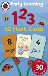 Early Learning: 123. 52 flash cards - фото обкладинки книги