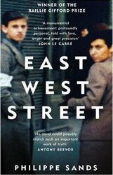 East West Street : Non-fiction Book of the Year 2017 - фото обкладинки книги