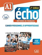 Echo 2e edition A1. Cahier d'exercices + CD audio + livre-web - фото обкладинки книги