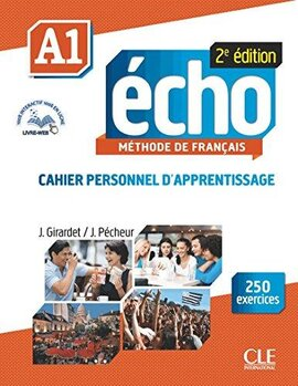 Echo 2e edition A1. Cahier d'exercices + CD audio + livre-web - фото книги