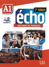 Echo 2e edition A1. Livre de L'eleve + DVD-Rom + livre-web - фото обкладинки книги