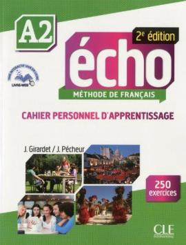 Echo 2e edition A2. Cahier d'exercices + CD audio + livre-web - фото книги