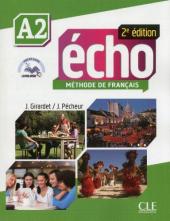 Echo 2e edition A2. Livre de L'eleve + DVD-Rom + livre-web - фото обкладинки книги